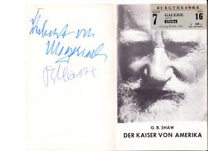 O.E. Hasse, Hubert von Meyerinck, Fritz von Friedl, Ingrid Andree 1967