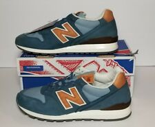 NEW BALANCE MEN'S 9.5  MADE IN THE USA CLASSICS BLUE & TAN NEW / BOX M996DCC