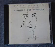 Jane Birkin, amours des feintes, CD