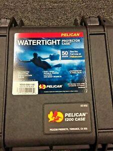 Pelican 1200 Watertight, Crushproof, Dustproof Protective Case with Foam - NEW