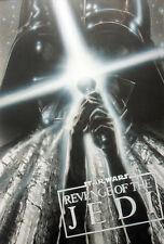 STAR WARS REPRO FILM MOVIE POSTER REVENGE OF THE JEDI CONCEPT TREATMENT .NOT DVD