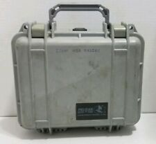 Pelican 1200 Protective Case - Gray with Foam PRE-OWNED FREE SHIPPING INCLUDED