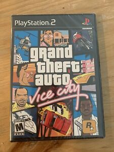 GTA Grand Theft Auto Vice City Sony PlayStation 2 PS2 New Sealed TRILOGY VERSION