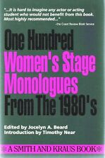 100 Womens Stage Monologues from the 1980s (Monol