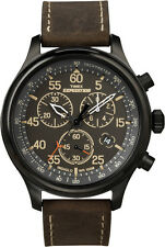 Timex watch T49905 Mens Chronograph, Indiglo Night Light 100M WR