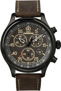 Timex watch T49905 Mens Chronograph, Indiglo Night Light 100M WR