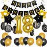 Happy Birthday Anniversary Party Decoration Ballon Set for Age 30/40/50/60/70