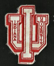 Vintage 70s Indiana University College NCAA Sports Patch IU Hoosiers NewOldStock