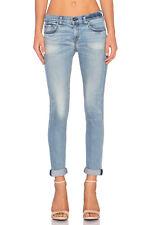 New! rag & bone /JEAN Women's The Dre Slim Fit Jeans in Langside Light Wash - 27