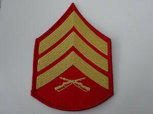 (57) US Rangabzeichen 1 STÜCK Marine Corps  Sergeant f. Männer