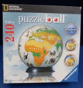 9093. Puzzleball  -  Vegetationszonen der Erde  -  240 Teile  -  Ravensburger