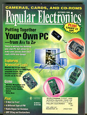 Popular Electronics Magazine October 1998 Build Your Own PC EX 041516jhe