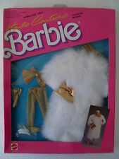 Haute Couture Barbie Gown Dress Robe Abito habillage NRFB 1987 Mattel 4509 4388