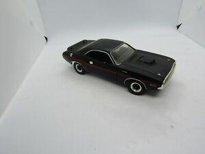 Johnny Lightning Black 1970 Dodge Challenger Car Free Shipping