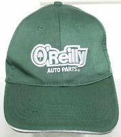 O'Reilly Auto Parts Adult 3D Logo Baseball Hat Green Strapback Cap