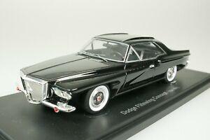 Dodge Flitewing Concept 1961 Black 1-333 Piece 1/43 AutoCult Avenue 60070 New