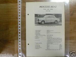 ME13-MERCEDES-BENZ TYPE 180D EN 180DB 1959-1961 -INFO