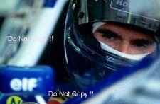 Damon Hill WILLIAMS FW18 Portrait F1 CAMPIONE DEL MONDO 1996 fotografia 1