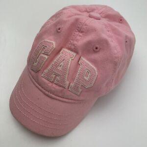 Baby Gap Toddler Pink Ball Cap Hat XS/S Baseball