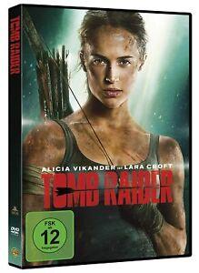 Tomb Raider (2018) [DVD/NEU/OVP] Reboot um die Videogame-Heldin Lara Croft.