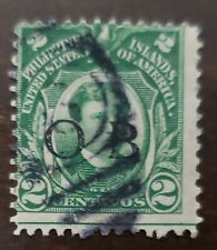 Philippines stamp hand stamped O.B used hinged
