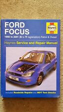 Haynes Manual, Ford Focus 1998-2001 (S to Y Reg, Petrol & Diesel)