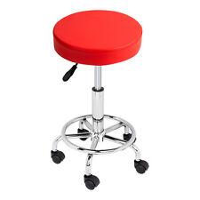 Adjustable Salon Stool Hydraulic Rolling Chair Tattoo Dental Facial Massage Spa