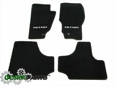 2011 Dodge Nitro Dark Slate Premium Carpeted Floor Mats Set of 4 MOPAR OEM NEW