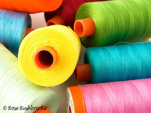 Aurifil Cotton 50 wt Mako Quilting Thread 1422 yard spools - Page 3