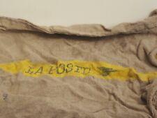 More details for french la poste vintage sack hemp burlap jute deco loft shabby