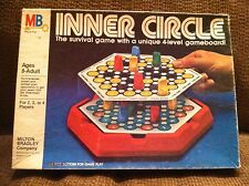 MILTON BRADLEY 1981 INNER CIRCLE SURVIVAL GAME 8 TO ADULT Strategy Board Game