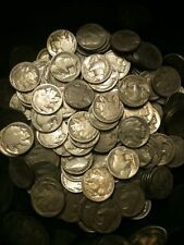 1x Buffalo Head Nickel 1913-1938 5c Indian Five Cent Piece Old Vintage US Coin