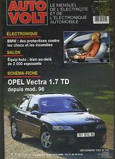 (11A) AUTO VOLT OPEL VECTRA 1.7 TD Décembre 1997 n°740