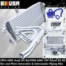Intercooler+Piping Kit fit 00-01 Audi A4 Quattro Avant Wagon 4D 1.8T