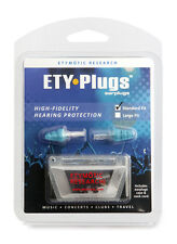 ETY Earplugs + Pouch Standard Fit Protection Music Concerts Clubs Travel Noise