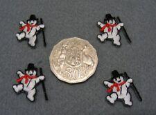 Christmas Snowman Motifs Small  - Packet 12