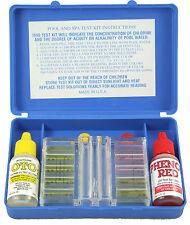 Kit Test Completo per Analisi del Cloro e del PH Piscine Professionale piscina