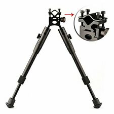 Extra Durable Adjustable Bipod Fit Barrel w/ Adapter & Extendable Spring Legs