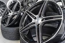 19 Zoll AX7 Alu Felgen für Mercedes CLC CLK CLS Klasse W208 W209 W218 W219 AMG