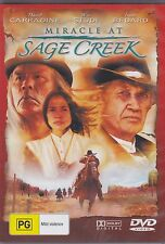 MIRACLE AT SAGE CREEK - David Carradine, Wes Studi, Michael Parks - DVD  - NEW