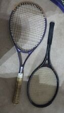2 Slazenger Tennis Rackets Panther Club 2 & panther titan pro 95 covers vintage