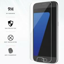 FULL CLEAR Gorilla Tempered Glass Screen Protector Cover Film for Samsung Galaxy