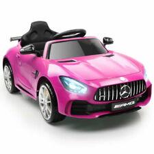 Kids Ride on Car MercedesBenz AMG GT R Electric 12v Pink