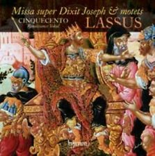 Lassus: Missa super Dixit Joseph & motets (CD, 2015, Hyperion) new