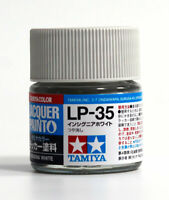 Tamiya Color 田宮 タミヤ Lacquer Model Kit Paint 10ml # LP-35 Insignia white