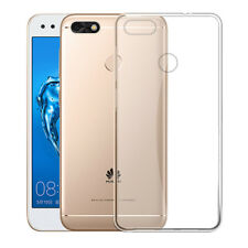 Ultra-Thin Clear Crystal Soft TPU Case Cover For Huawei P9 Lite Mini/Y6 Pro 2018