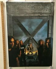 VINTAGE MUSIC POSTER Iron Maiden Electric Chair Classic Thrash Metal England