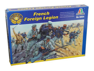 French Foreign Legion 1:72 Scale Figs  - 50 Figures + 50 Parts -  Italeri 6054