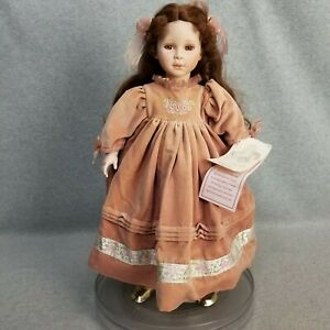 """20"""" Hand Signed Limited Edition Doll """"Courtney"""" by Pauline with Hang Tag"""