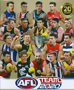 AFL Teamcoach 2020 Football Trading Cards - BEST & FAIREST - U Pick Singles